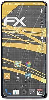 atFoliX Skärmskydd är kompatibel med Xiaomi Redmi K20 Pro Skyddsfilm, antireflekterande och stötdämpande FX Film (3X)