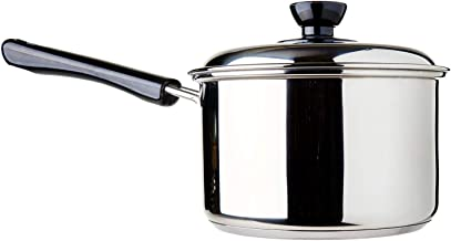 Dolphin Collection Stainless Steel Saucepan Sandwich Base, 2.11L, (DXS016)