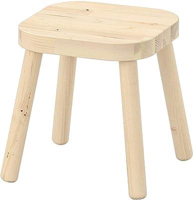 Ikea Children's Stool,Beige, 24x24x28 cm (9 1/2x9 1/2x11)