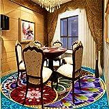Floor Painting murals to The Dubai Sailing Hotel Mediterranean Style Floor Papel de Parede 3D para sala atacado-150105cm