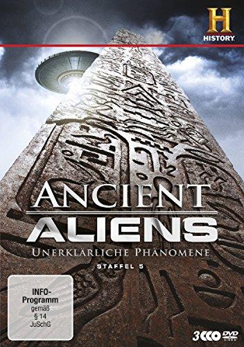 Ancient Aliens - Unerklärliche Phänomene, Staffel 5 [3 DVDs]