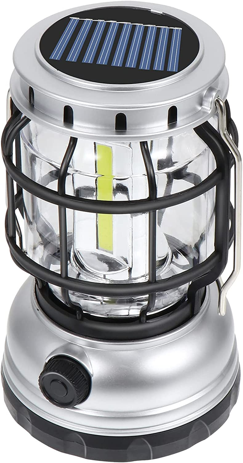 Amosfun LED Camping Lanterns Solar Emer Powered USB Ranking TOP1 Rechargeable Latest item