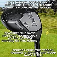 #1 World's Longest Juggernaut Titanium Pure Magic Custom Fairway Woods #3 or #5 Golf Club