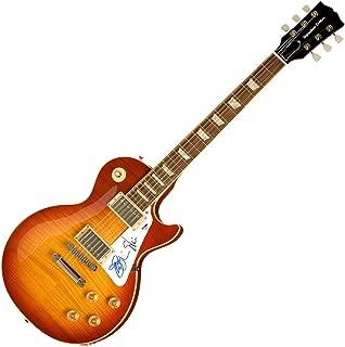 Steve Vai Joe Satriani Signed Autographed LP 6-String Guitar AFTAL UACC RD COA
