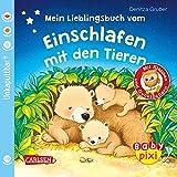 Baby Pixi (unkaputtbar) 96: Mein Lieblingsbuch vom Einschlafen mit den Tieren: Ein Baby-Buch mit Klappen und Gucklöchern ab 1 Jahr (96)
