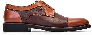 1740-530 EXL-Antik Safran 203 - Chi Bsk Kahve 672 Nevzat Onay Bağcıklı Safran Rengi Günlük Deri Erkek Ayakkabı