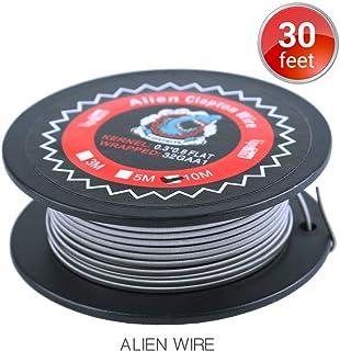 10M Vapethink Alien Clapton Wire, Alambre de Calefacción AWG(0.3x0.8mm Flat