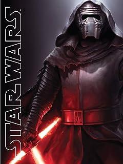Rey kylo ren lightsaber fight 24 X 14 inch Silk Poster