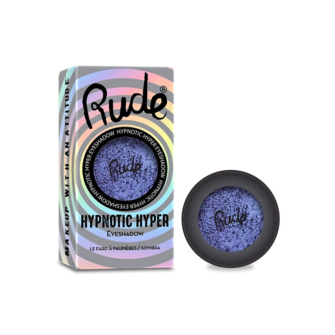 読みやすさ作詞家眠るRUDE Hypnotic Hyper Duo Chrome Eyeshadow - Incognito (並行輸入品)