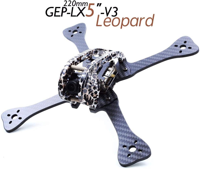 Laliva GEPLX5V3 Leopard Frame 4 5 6 inch Quadcopter Frame for DIY FPV Racing Mini RC Drone kit  (color  4 inch)