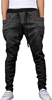 c713f719c Minetom Homme Pantalon de Jogging Garcon Pantalon Court De Sport Casual  Pantalons de Formation Pantalons de