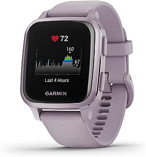 Garmin Venu Sq Smartwatch Voor De Gezondheid Van Het Welzijn, Geïntegreerde GPS, Multisport, Cardio, Pols, Garmin Pay, Lan...
