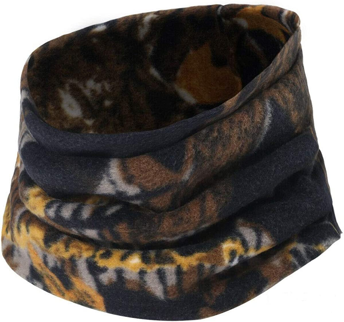 Cold Weather Fleece Neck Gaiter Camo Windproof Face Winter Neck Warmer - RC17