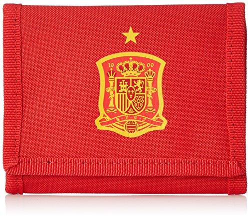 adidas FEF Wallet Portefeuille Mixte Adulte, Rouge (Rojo/Dorfue), 10x5x15 Centimeters (W x H x L)
