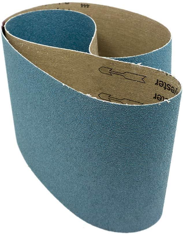 Benchmark Abrasives 6 National uniform free shipping X Las Vegas Mall 48 Sanding Inch Grinding Zirconia Metal