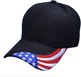 American Flag Bill Baseball Cap Twill Cotton Dad Hat Low Profile Military Cap Special Force Tactical Cap