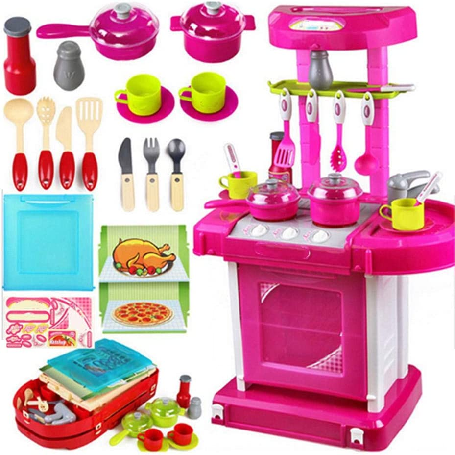 SALUTUY Same day shipping Kitchen Toy Set Practical Ranking integrated 1st place Safety Children f