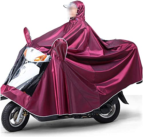 KANGSHENG imperméables Poncho de moto électrique, hommeteau de pluie universel imperméable pour femmes, vélo électrique, imperméable surdiPour des hommesionné, épais