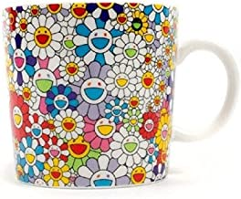 TAKASHI MURAKAMI Coffee Tea Mug Cup Flower Ohana kaikaikiki Limited Exclusive