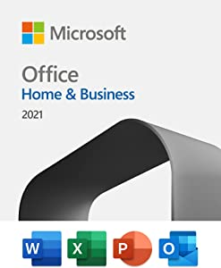 Microsoft Office Home & Business 2021 | One-time purchase for 1 PC or Mac | Download