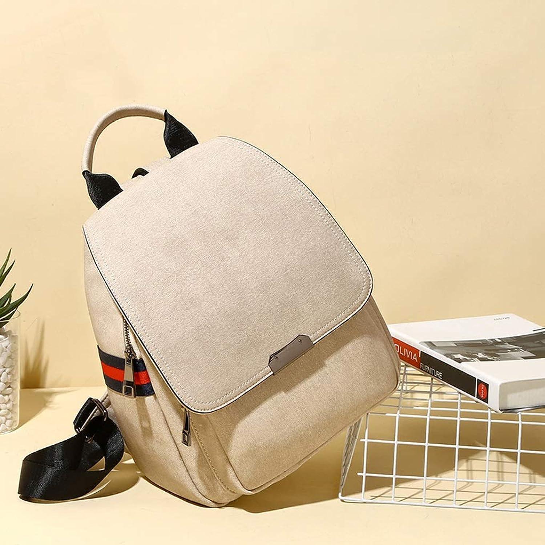 LXD moda Creative Pu Backpack Backpack Moda femminile Zaino versatile di gree capacità