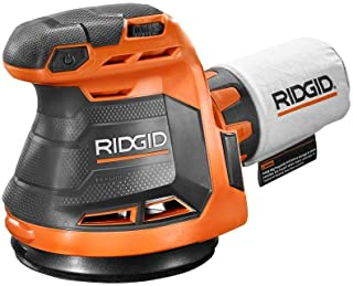 Ridgid R8606B GEN5X 18-Volt 5 in. Cordless Random Orbit Sander (Tool-Only, Battery and Charger NOT Included) (Renewed)