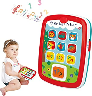 HOLA Baby Toy for 6 12 18 24 months - My Baby Tablet - Educational Learning Toy - Baby Boy Girl Toddler Toy Tablet with Ea...