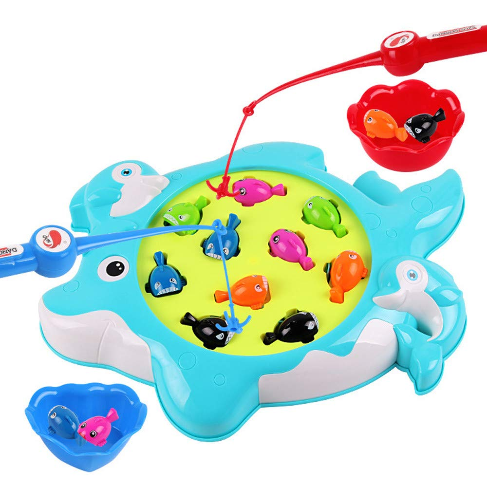 Free trust Shipping New QUNANEN Early Education 🌈 Fun Toy Fish Magnetic Challenge