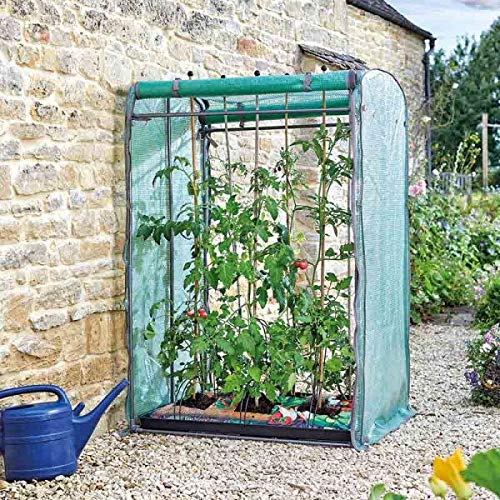 garden mile Large Garden Greenhouse Grow Tomato House GroZone Wide Plant Protection Cover Outdoor Heavy Duty Walk-In Poly tunnel Greenhouse (Tomato GroZone Max)
