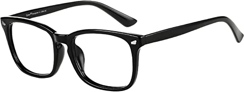 Cyxus Blue Light Filter Computer Glasses for Blocking Headache [Anti Eye Eyestrain] Transparent Lens Gaming Glasses, ...
