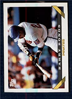 Baseball MLB 1993 Topps #2 Barry Bonds Pirates