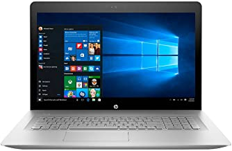HP Envy 17 Laptop - 17.3in Edge-to-Edge IPS TouchScreen Full HD (1920x1080), 8th Gen Quad-Core i7-8550U, 16GB DDR4, 1TB HDD, NVIDIA MX150, IR Camera, Backlit, Windows 10 (Renewed)