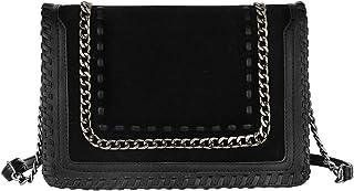 df7bb898d Amazon.fr : chaine - Cuir / Sacs bandoulière / Femme : Chaussures et ...