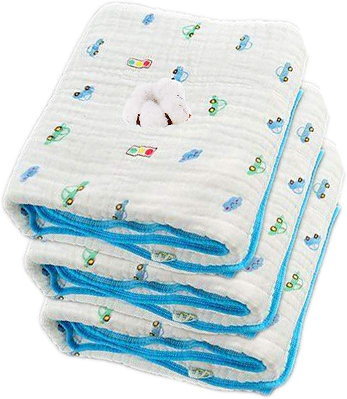 Muslin Baby Bath Towel And Stroller Blanket Cotton Gauze Warm Baby Swaddle Blanket 41x41 Inches Blue Cars 01