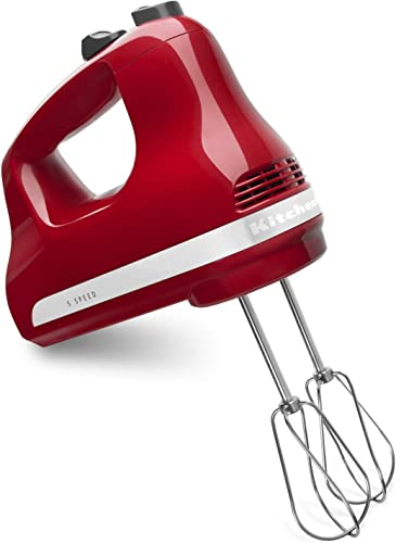 discount KitchenAid Ultra online sale Power lowest 5-Speed Hand Mixer (Emp Red) outlet sale