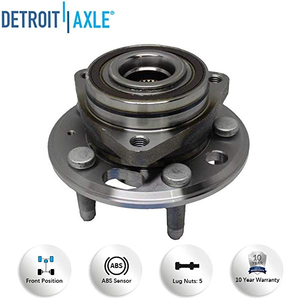 Timken FRONT/ REAR Wheel Hub and Bearing Assembly for Chevy ...