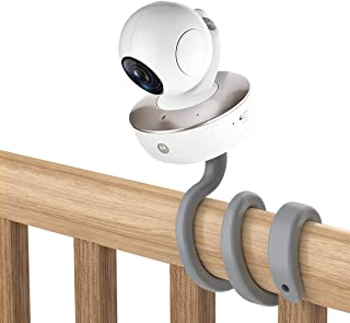 Universal Baby Monitor Mount for Arlo/Motorola Baby Monitor/Nannio Monitor/HelloBaby Monitor - Versatile for Any Other Cam...