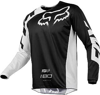 Fox Racing 180 Race Men's Off-Road Jersey - Black / Large