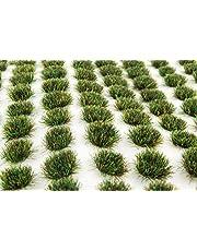 WWS 100 Mechones autoadhesivos de hierba estática de Otoño 4mm - Modelismo Ferroviario, Dioramas, Wargaming, Miniaturas