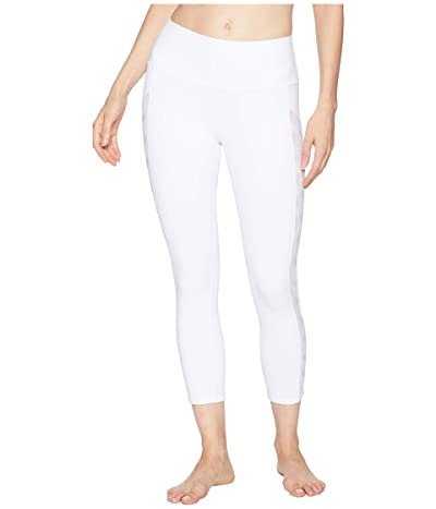 ALO Chevron Capri (White) Women