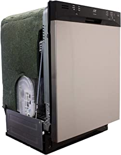 SPT SD-6501SS: Energy Star 24 w/Heated Drying – Stainless Built-in Dishwasher, Steel and Black