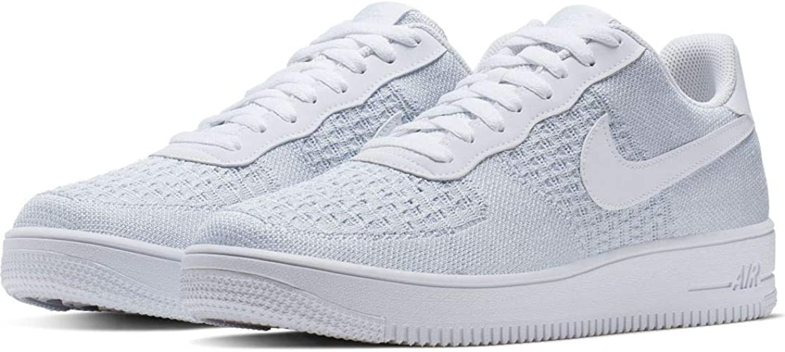 Nike Air Force 1 Flyknit 2.0, Chaussures de Basketball Homme ...