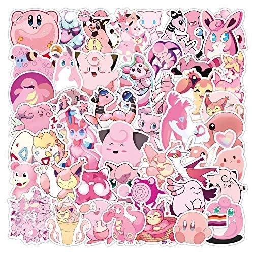 XIAMU Creativo Kawaii Pink Toot Pig Pegatinas Decorativas DIY Craft Photo Albums 50Pcs