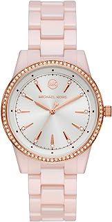 Michael Kors Ritz Women's White Dial Ceramic Analog Watch - MK6838