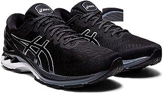 ASICS Men's Gel-Kayano 27 Running Shoes, 14M, Black/Pure Silver