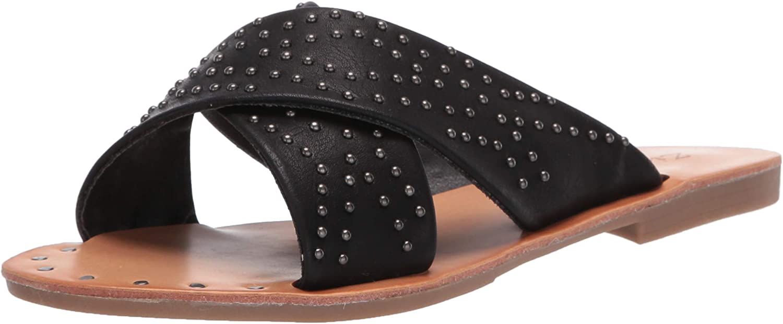 ZiGi Soho Women's ALAISHA Slide Sandal, Black, 7.5 Medium US