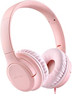 Kids Headphones, Mpow CHE2 Wired Headphones for Kids Teens, Children Headphones with Volume Limit, Foldable Adjustable On-...