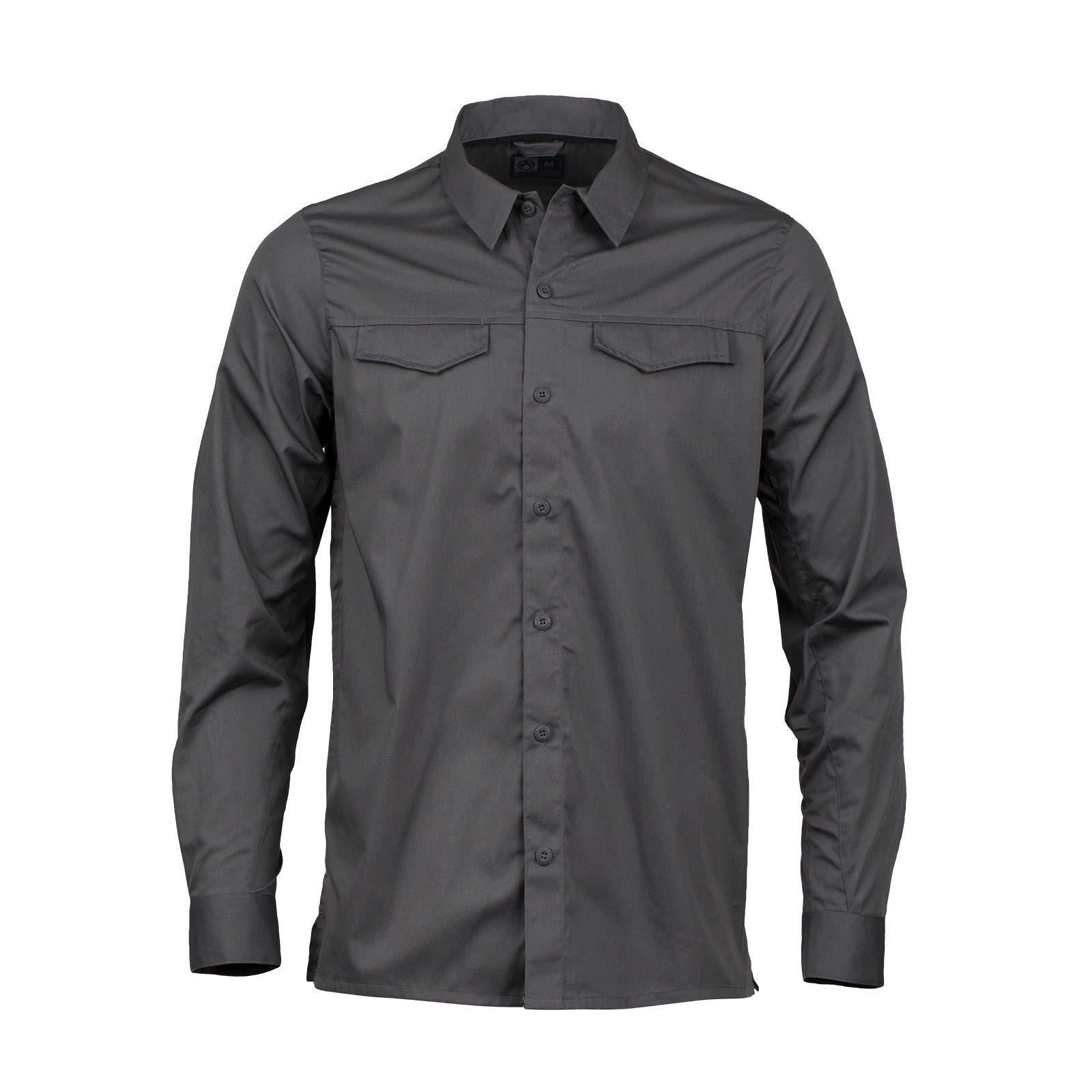 Magpul Mens Button-up Stateside Shirt Long Sleeve X-Large Titanium