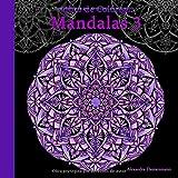 Libro de Colorear - Mandalas Volumen 3: Pintar y relajarse. Un libro de colorear sobre fondo negro p...
