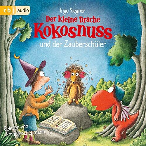 Der kleine Drache Kokosnuss und der Zauberschüler cover art
